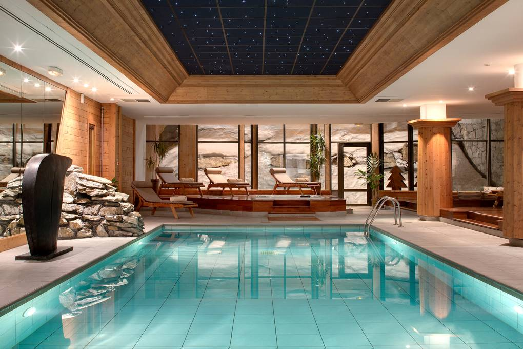 Spa at Les Barmes de l'Ours, Val d'Isere, France