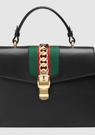 Sylvie medium top handle bag